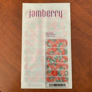 Jamberry December 2016 Hostess Wrap. Full sheet.